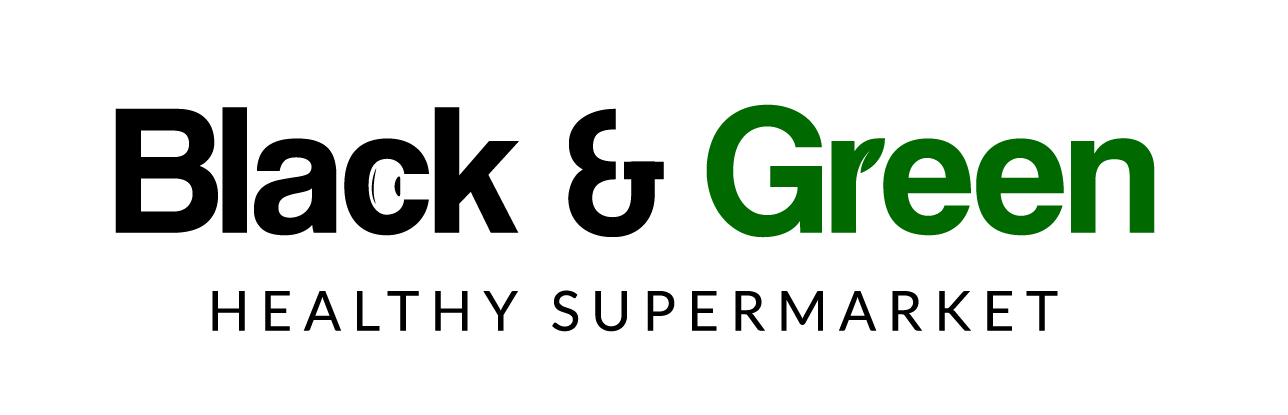 Black & Green – Supermercado saludable con productos veganos y ecológicos.